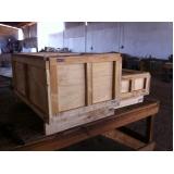 caixa de madeira em compensado