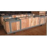 caixa de madeira industrial