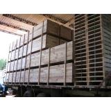 caixa de madeira para carga