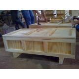 caixa de madeira para equipamentos