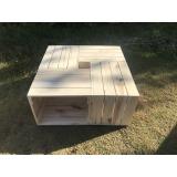 caixa de madeira de feira valor Cesário Lange