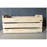 caixa de madeira de feira Indaiatuba