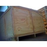 caixa de madeira em compensado valor Cesário Lange