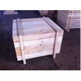 caixa de madeira para industria valor Cajamar