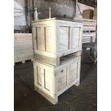 caixa de madeira para transporte valor Cabreúva