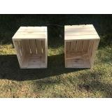 caixas de madeira de feira Itapetininga