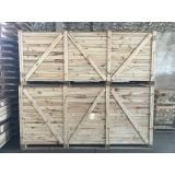 caixas de madeira fechada Tietê