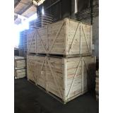 caixas de madeira grande para transporte Porto Feliz