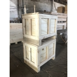 caixas de madeira para industria Campinas