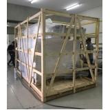 compra de engradado de madeira para transporte de máquinas Iperó