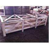 engradado de madeira para máquinas orçamento Porto Feliz