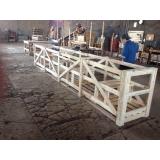 engradado de madeira para transporte de equipamentos orçamento Cerquilho