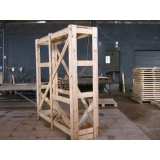 engradado de madeira para transporte de máquinas Campinas