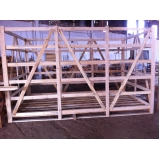 engradado de madeira para transporte orçamento Cesário Lange