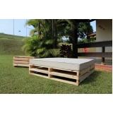 fábrica de pallet de madeira para jardim Campinas