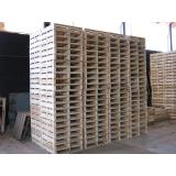 fábrica de pallets de madeira para carga Tietê