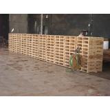 fábrica de pallets de madeira para transporte Cesário Lange