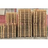 fábrica de pallets de madeira descartável