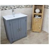 móvel de madeira para banheiro orçar Itupeva