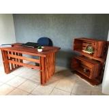 móvel de madeira para escritório comprar Americana