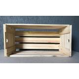onde comprar caixa de madeira de feira Jandira