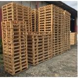 pallets de madeira descartável