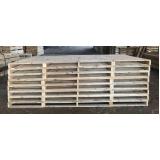 pallets de madeira em pinus