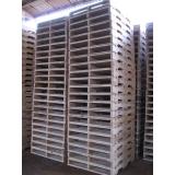 pallets de madeira industrial