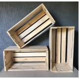 preço de caixa de madeira de feira Cabreúva
