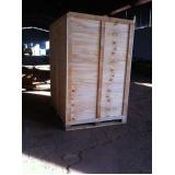 preço de caixa de madeira fechada Iperó