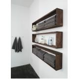 valor de móvel de madeira para banheiro Boituva